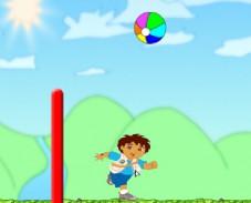 Игра Волейбол с Диего онлайн