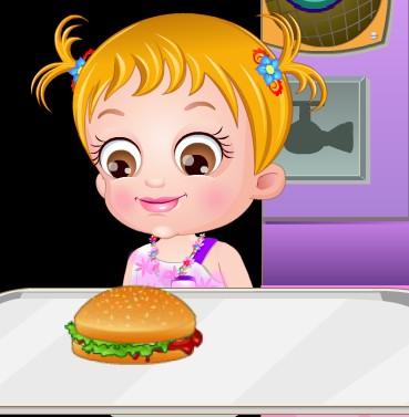 Игра Гамбургеры для Хейзел онлайн