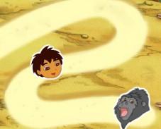 Игра Диего в лабиринте онлайн