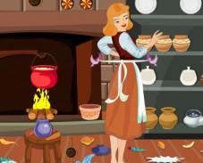 Игра Золушка на кухне онлайн