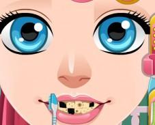 Игра Золушка у зубного онлайн