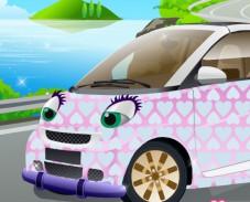 Игра Машина для Хэлло Китти онлайн