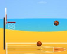 Игра Пляжный баскетбол онлайн