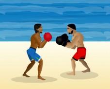 Игра Пляжный бокс онлайн