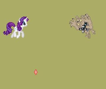 Игра Пони против собак онлайн