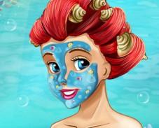 Игра Реальный макияж Ариэль онлайн