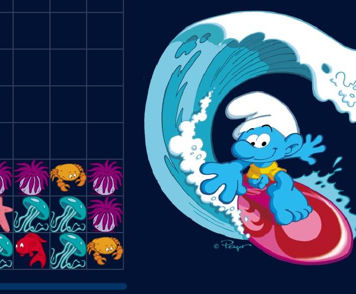 Игра Смурфики морские онлайн