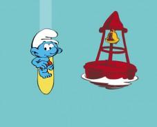 Игра Смурфики серфинг онлайн