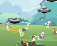 Игра Спаси пони от НЛО онлайн