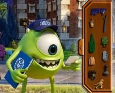Игра Университет монстров поиск предметов онлайн