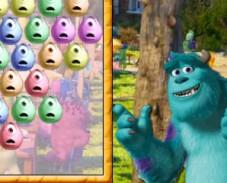 Игра Университет монстров три в ряд онлайн