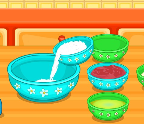 Игра Хэлло Китти готовим торт онлайн