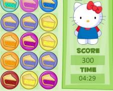 Игра Хэлло Китти три в ряд онлайн