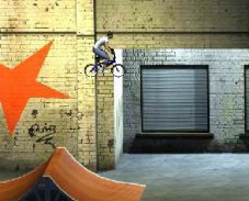 Игра Экстрим на велосипеде онлайн