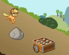 Игра Эпплджек и яблоки онлайн