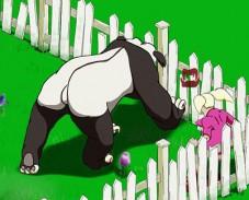 Игра Бешеная панда онлайн