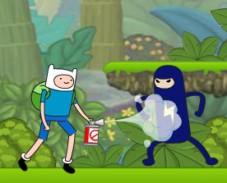 Игра Время приключений джунгли онлайн