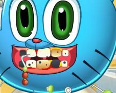 Игра Гамбол у дантиста онлайн