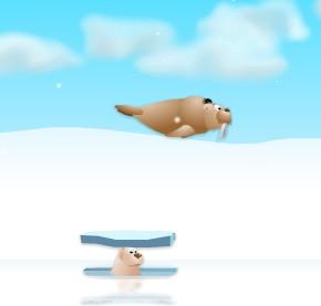 Игра Ледниковый период запуск моржа онлайн