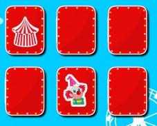 Игра Подбери пару цирк онлайн