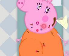 Игра Свинка Пеппа беременная онлайн