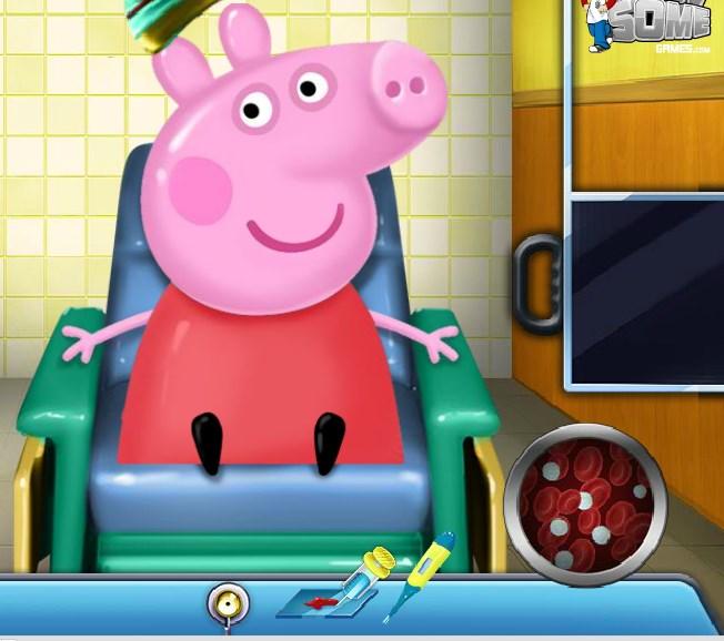 Игра Свинка Пеппа операция онлайн