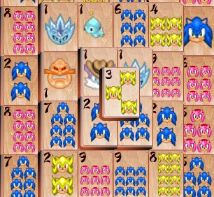 Игра Соник маджонг онлайн