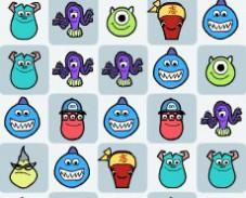Игра Университет монстров головоломка онлайн