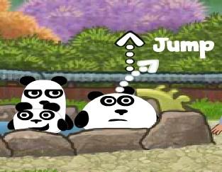 Игра 3 панды в Японии онлайн