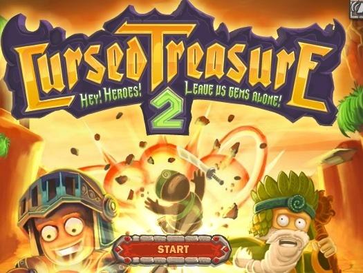 Игра Cursed Treasure 2 онлайн