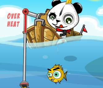 Игра Панда рыбалка онлайн
