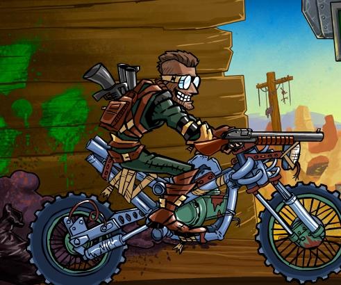 Игра Dirtbike Apocalypse онлайн