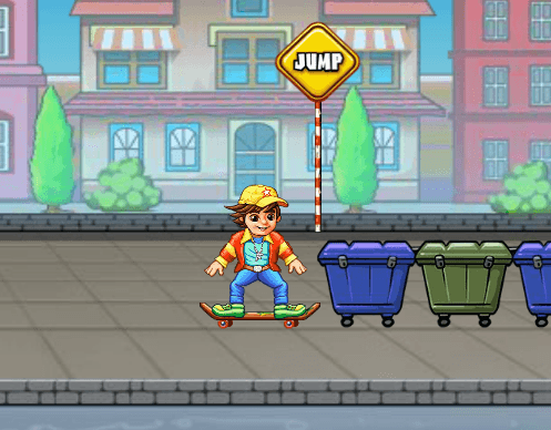 Игра Безбашенный скейтер онлайн