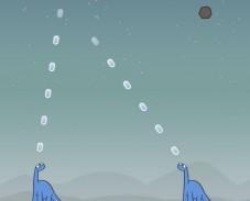 Игра Динозавры и метеоры онлайн