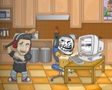 Игра Ударь Троллфейс онлайн