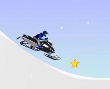 Игра Гонки на снегоходах онлайн