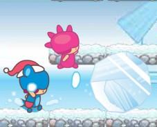 Игра Замороженный сад онлайн