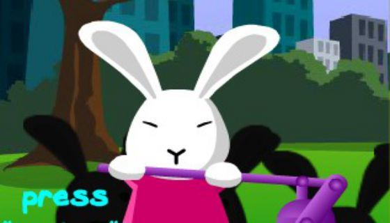 Игра Кролик Bloony онлайн