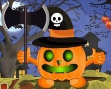 Игра Хэллоуинская тыква онлайн
