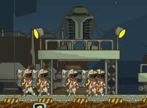 Игра Зомби в космосе онлайн