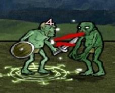 Игра Рыцарь-зомби онлайн
