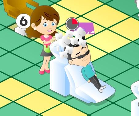 Игра Безумный салон онлайн