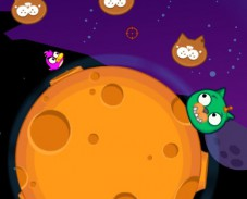 Игра Злая космическая утка онлайн