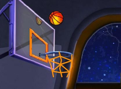 Игра Космический баскетбол онлайн