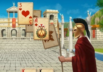 Игра Спартанский пасьянс онлайн