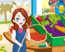 Игра Уборка в супермаркете онлайн
