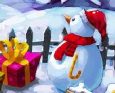 Игра Новогодние различия онлайн