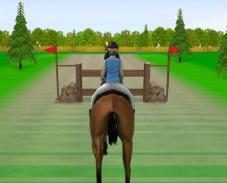 Игра Прыжки на лошади 2 онлайн