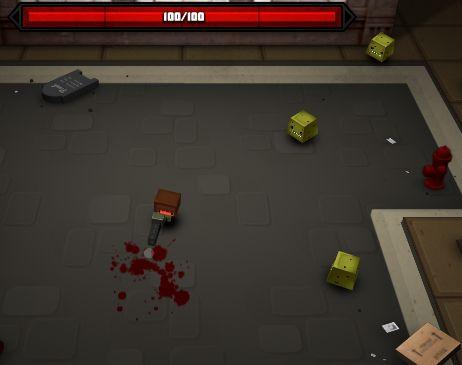 Игра Крипер Слэшер онлайн
