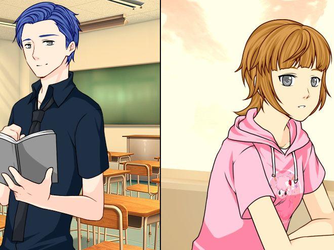 Игра Манга школьные дни 12 онлайн